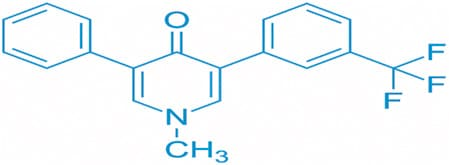 Fluridone chemical structure